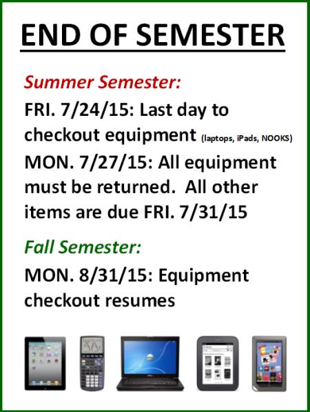 summer equipment sign